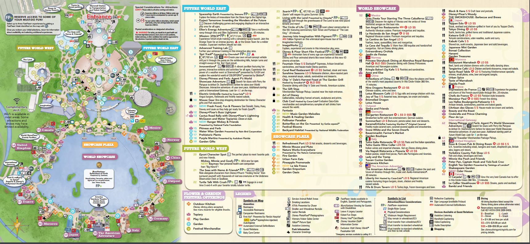 epcot map 2017 pdf - photo #4